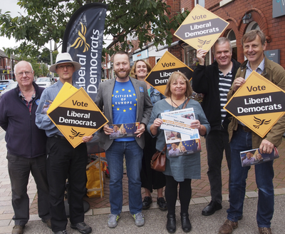 Macclesfield Lib Dems campaigning